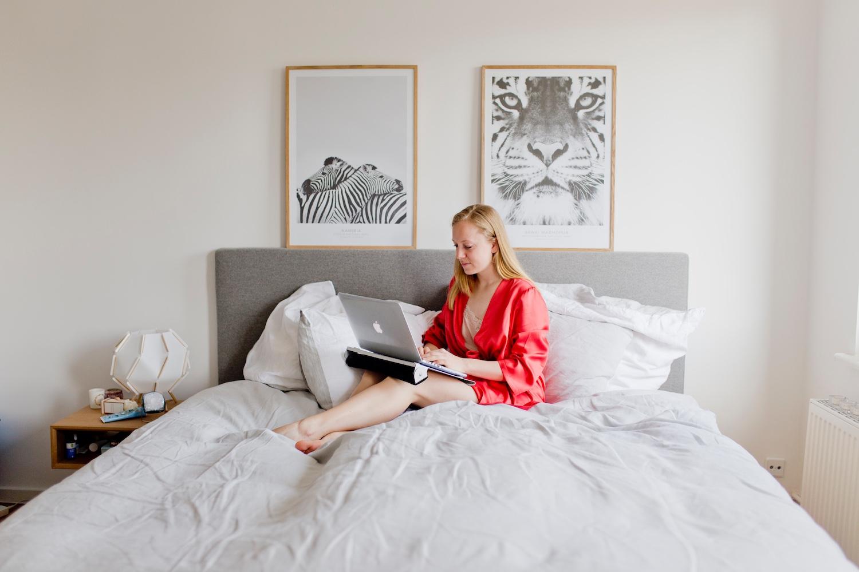 Berlin Living #4 | the new eve2 mattress & my Scandinavian bed