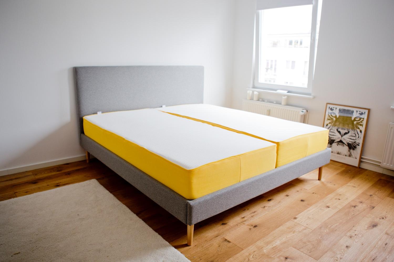Scandinavian bed frame _ dieneueeve _ eve sleep _ eve mattress review _ eve matress 2
