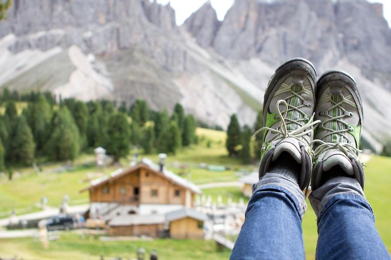 <em>Hiking in South Tyrol</em> Naturpark Puez-Geisler // Parco naturale Puez Odle