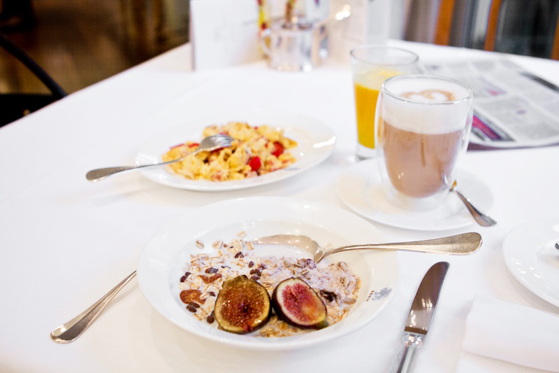 South Tyrol | breakfast at the Hotel Greif in Bolzano