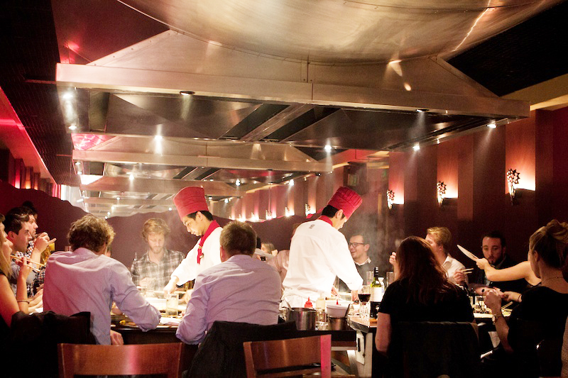 Restaurants in London | Teppanyaki at Benihana Chelsea _ Benihana _ Teppanyaki in London