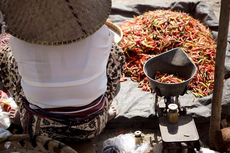 Bali Diary 10 | on the market in Kuta Lombok