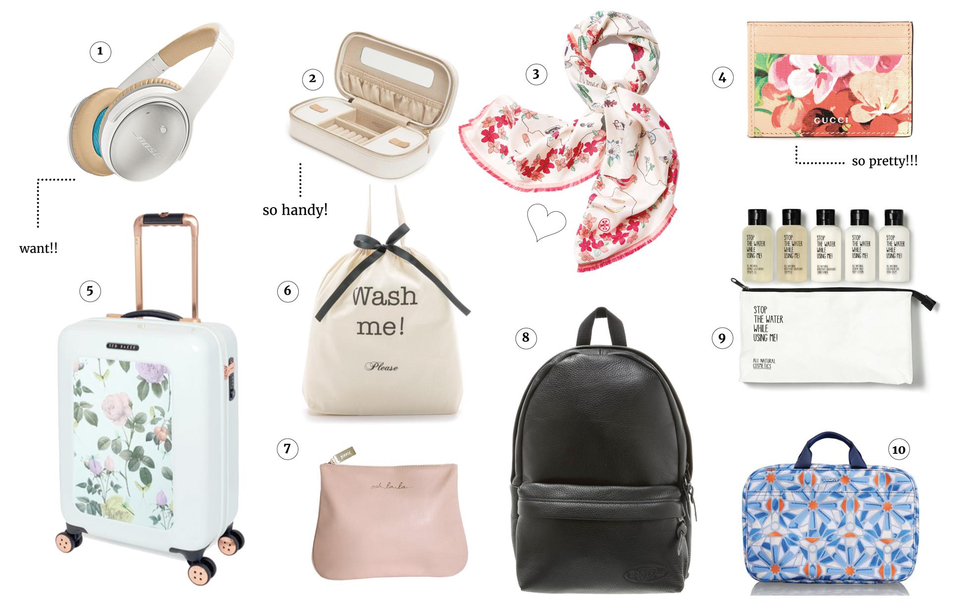Thursday Picks | pretty travel accessories The Golden Bun | München Modeblog, German Fashion Blog, Fashionblogger, new trends