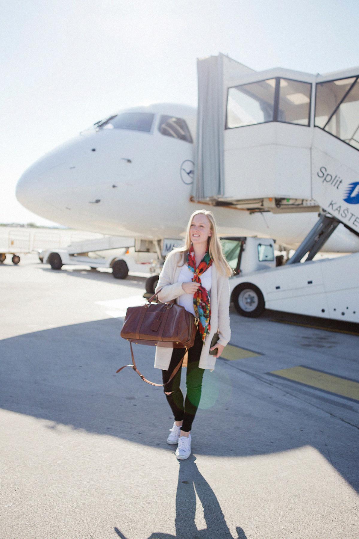 travel essentials Maxwell Scott Flero S bag