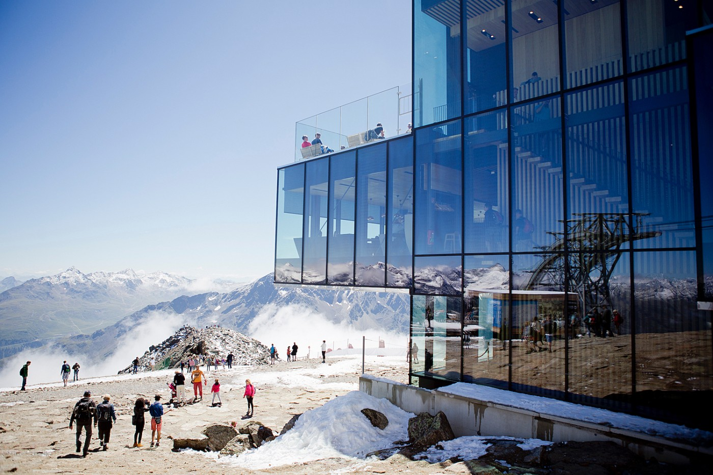 On James Bond's trails and a gourmet lunch at ice Q