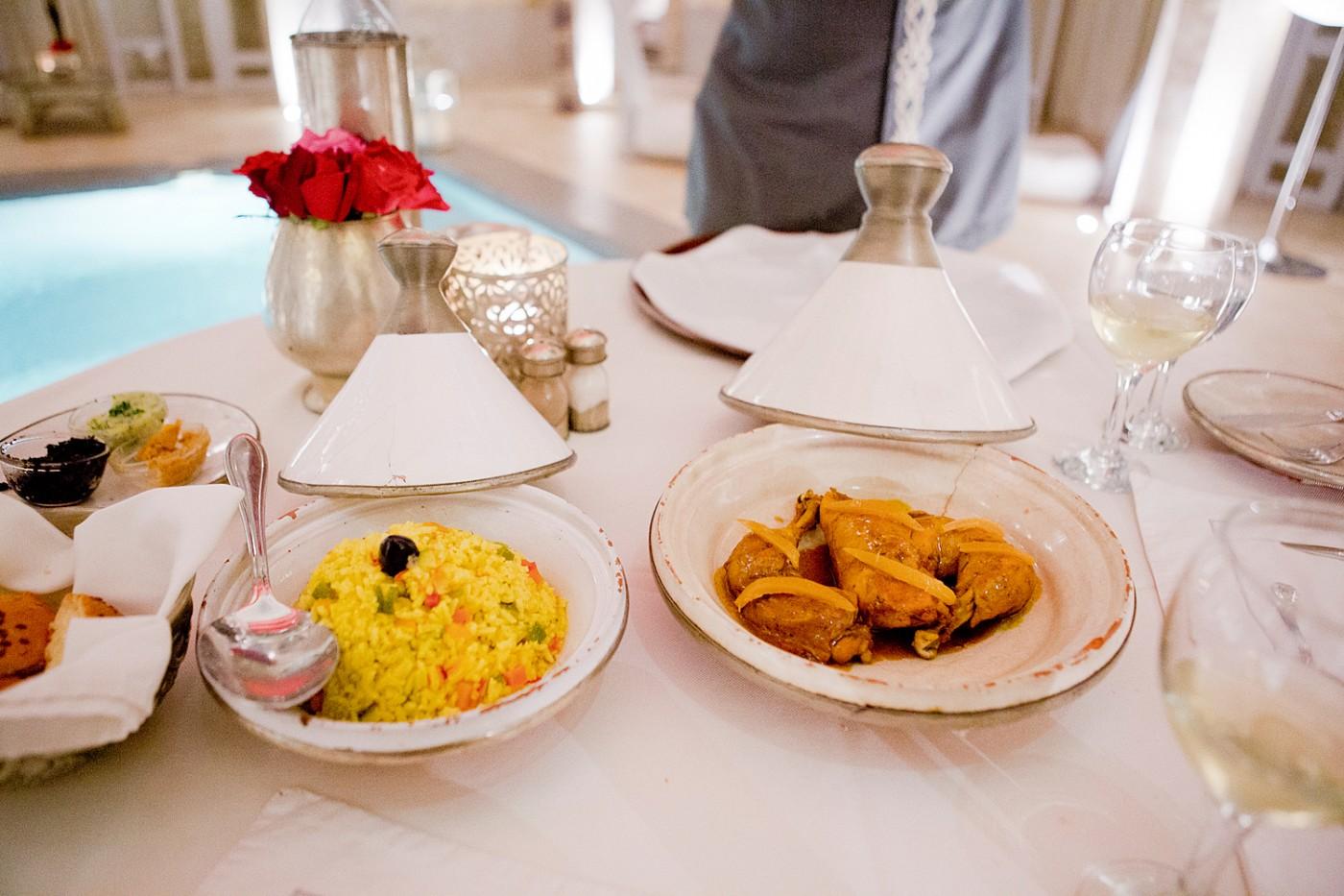 Restaurants in Marrakesch  Abends im AnaYela
