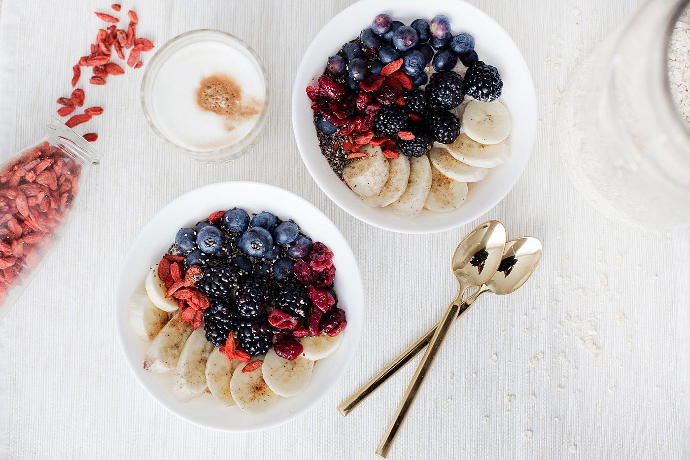 Breakfast love | weekend with a Cortado Oatmeal & NESCAFÉ