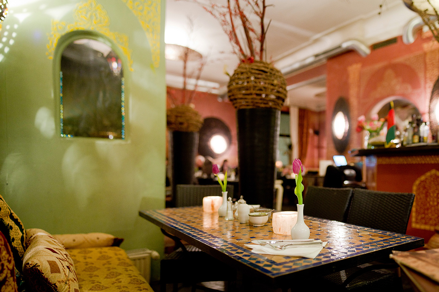 Restaurants in Munich | Afghan dinner at Lemar