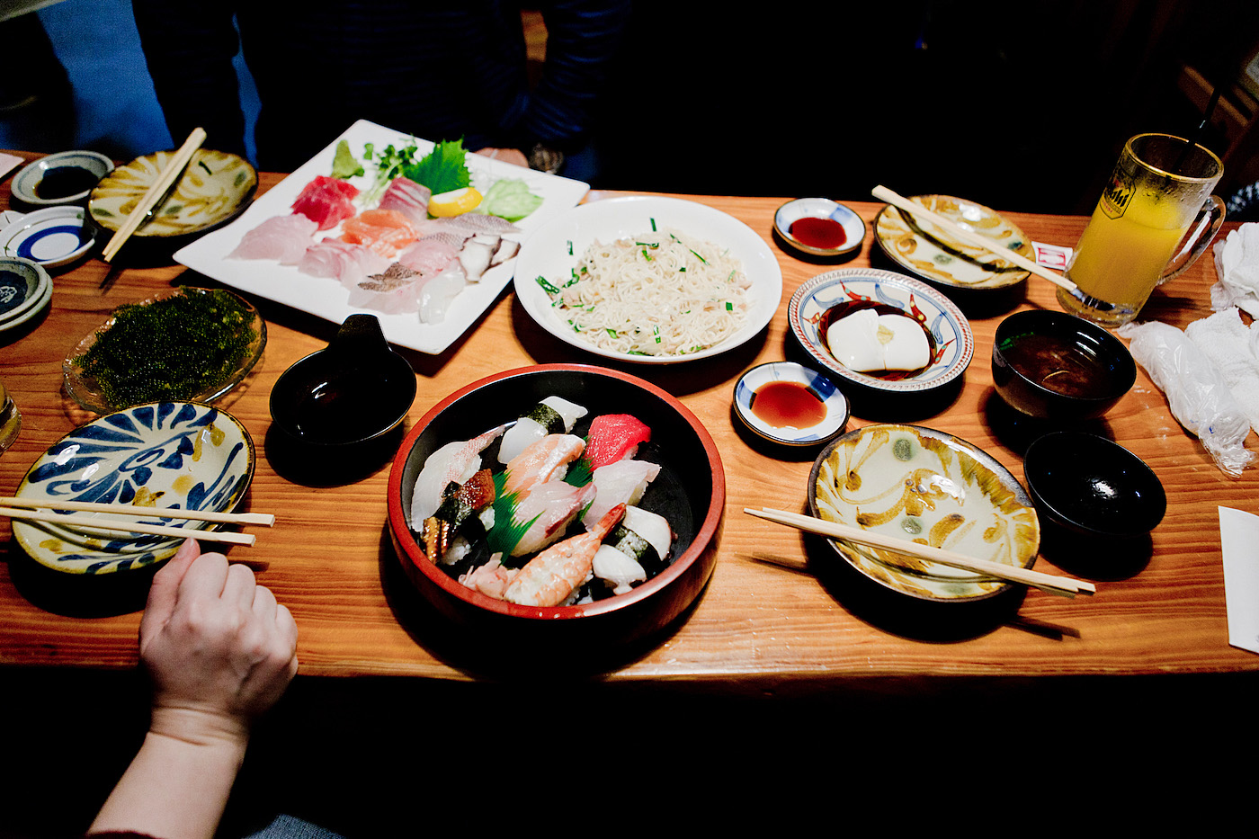 The golden bun - okinawa restaurant guide - fish on okinawa