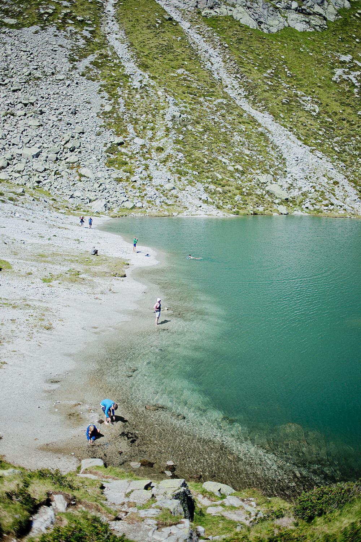 Wandern in Südtirol -Kratzberger See Meran 2000 wandern in Meran 10