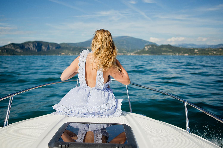 La Dolce Vita on a boat