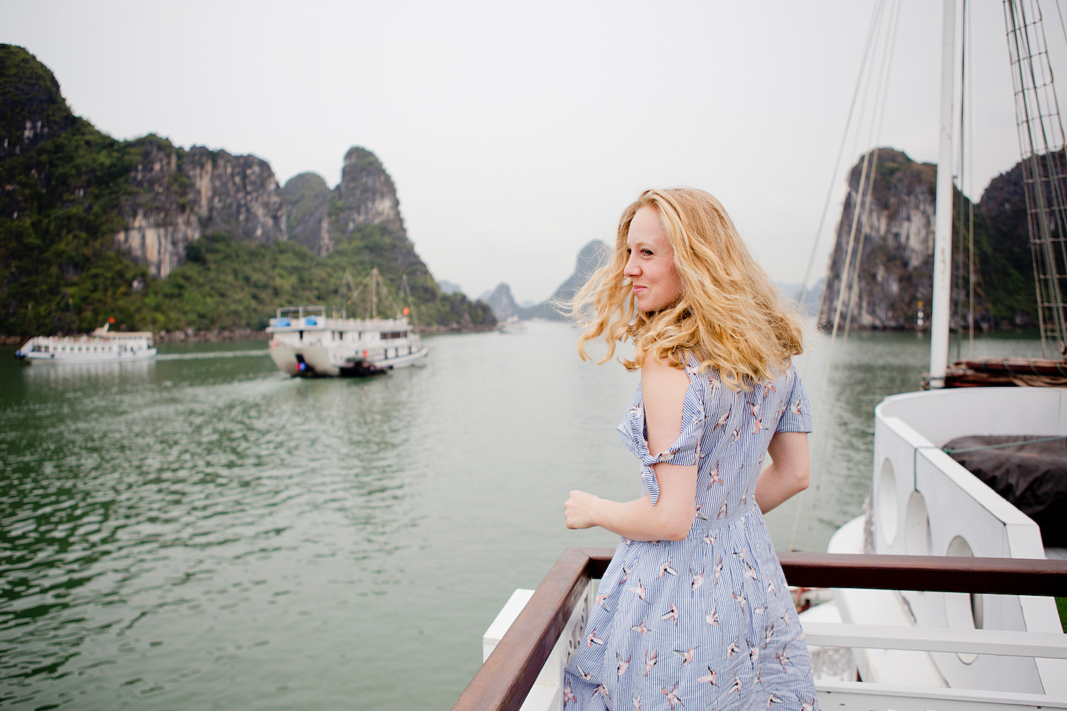 <em>Vietnam Roundtrip Part 1</em> <br>From Hanoi to the famous Ha Long Bay