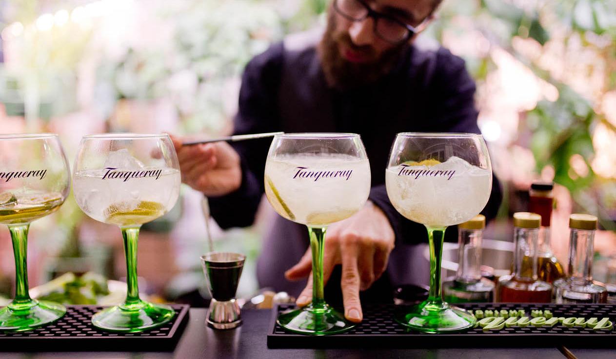 Der Tanqueray Drinks Club mit Salt & Silver #iswhatyouputin