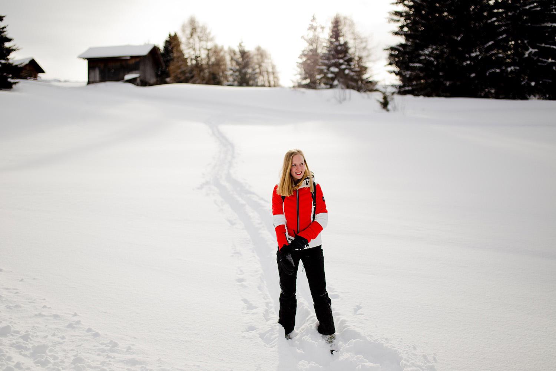 <em>Winter holidays in South Tyrol </em><br>Culinary hike on Alpe di Siusi to Malga Schwaiger