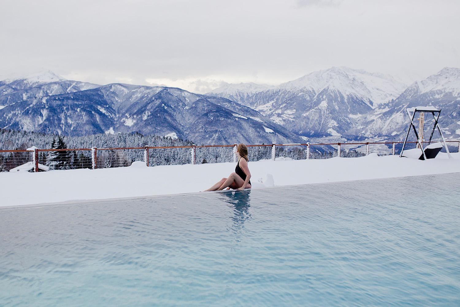 <em>Winter holidays in South Tyrol </em><br>Day Spa at Hotel Chalet Mirabell