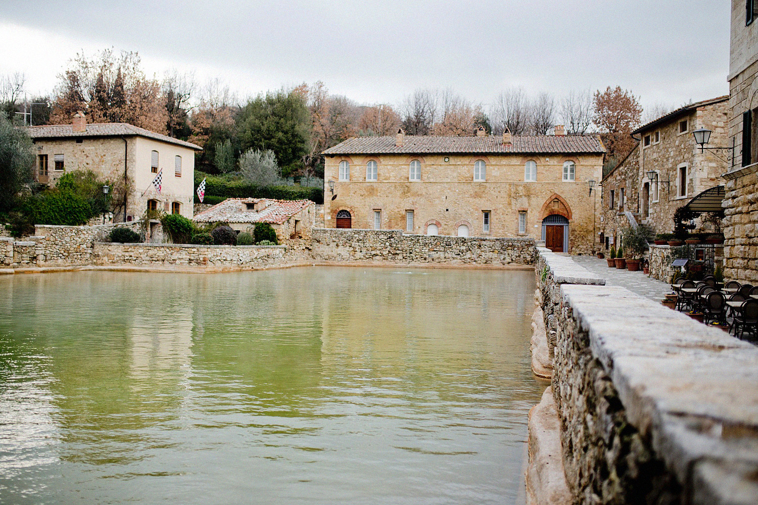 Bagno Vignoni Tuscany Cute Villages To Visit Val D Orcia1 The