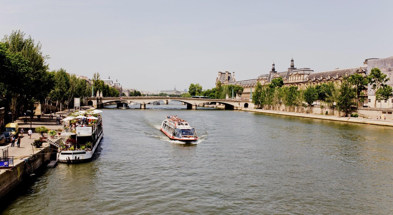 Glück im Unglück in Paris