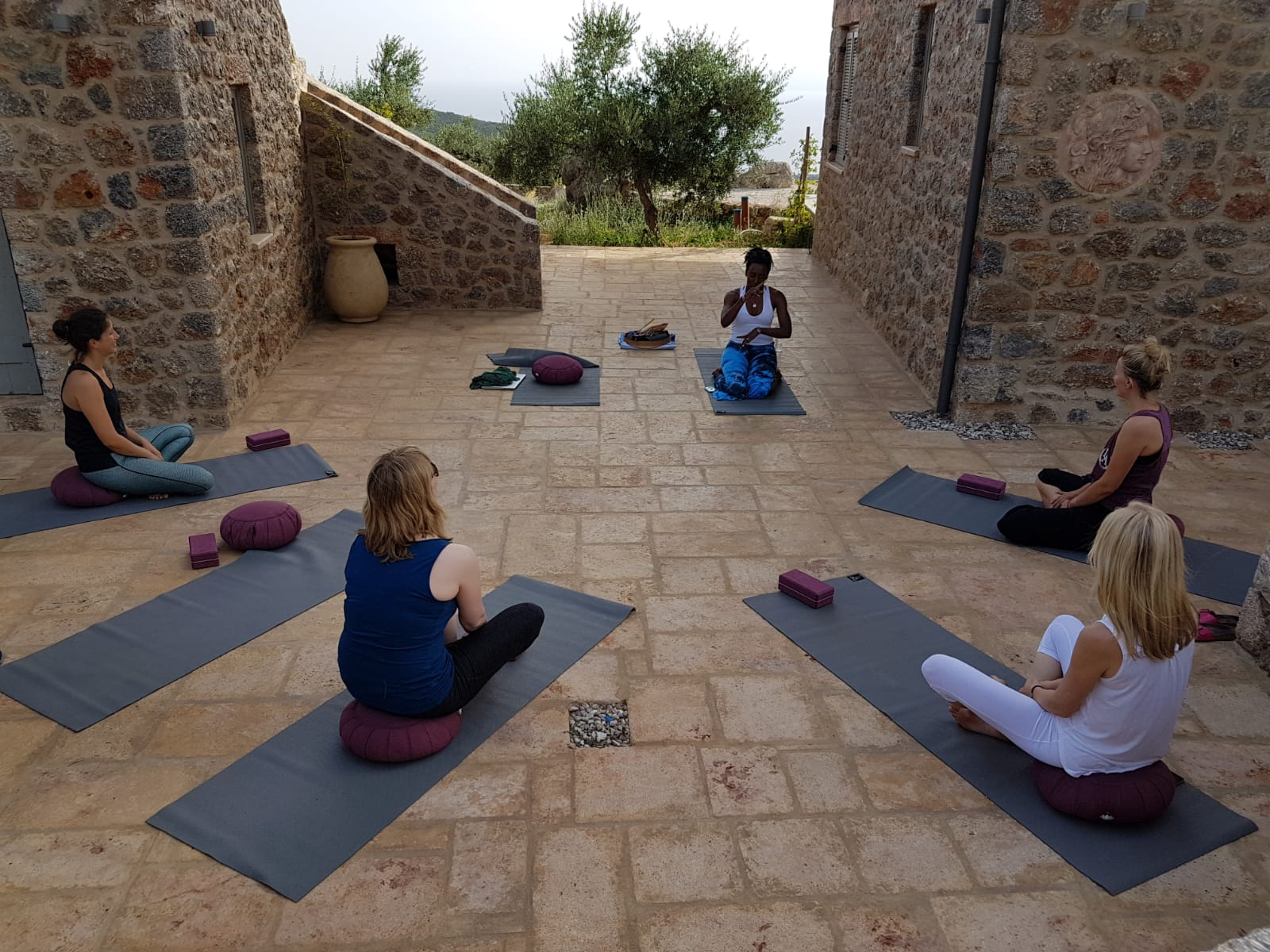 Zen Rocks Mani Yoga Retreat Greece