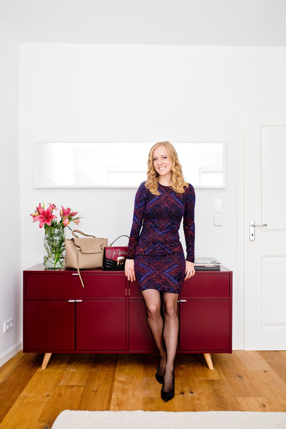 Holiday Season Outfit | Erfahrung mycs Sideboard Kommode