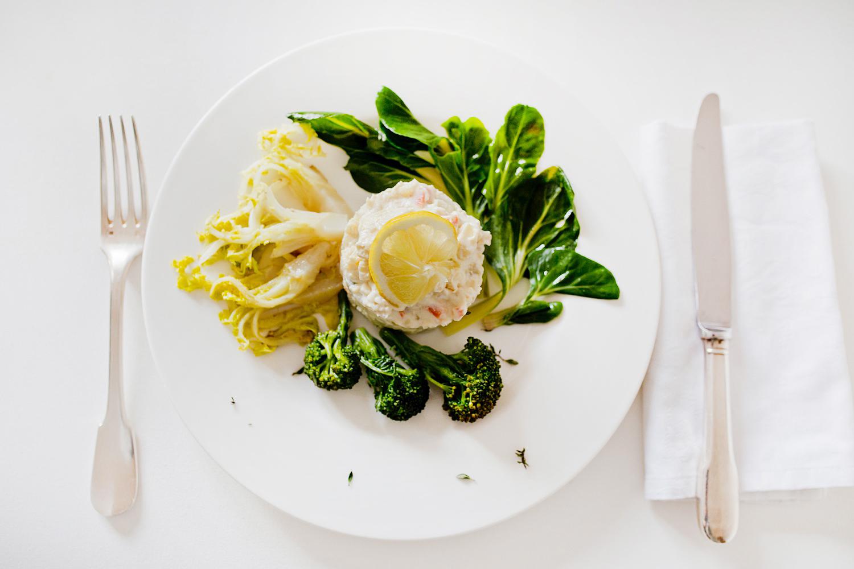 Deutsch) Südtiroler Küche   Italienischer Salat (Russischer Salat Olivje