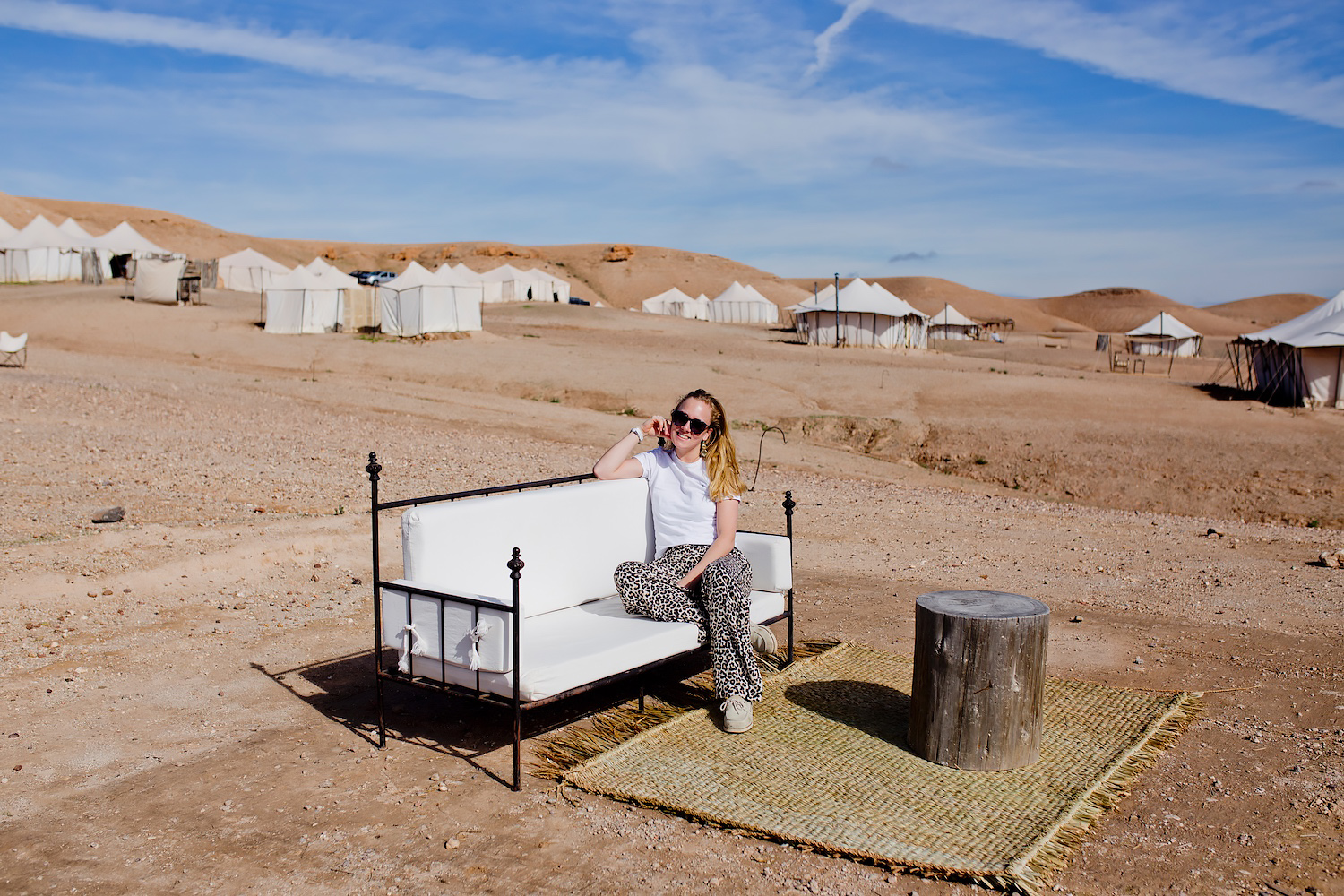 The Stone Desert experience: Glamping at SCARABEO CAMP