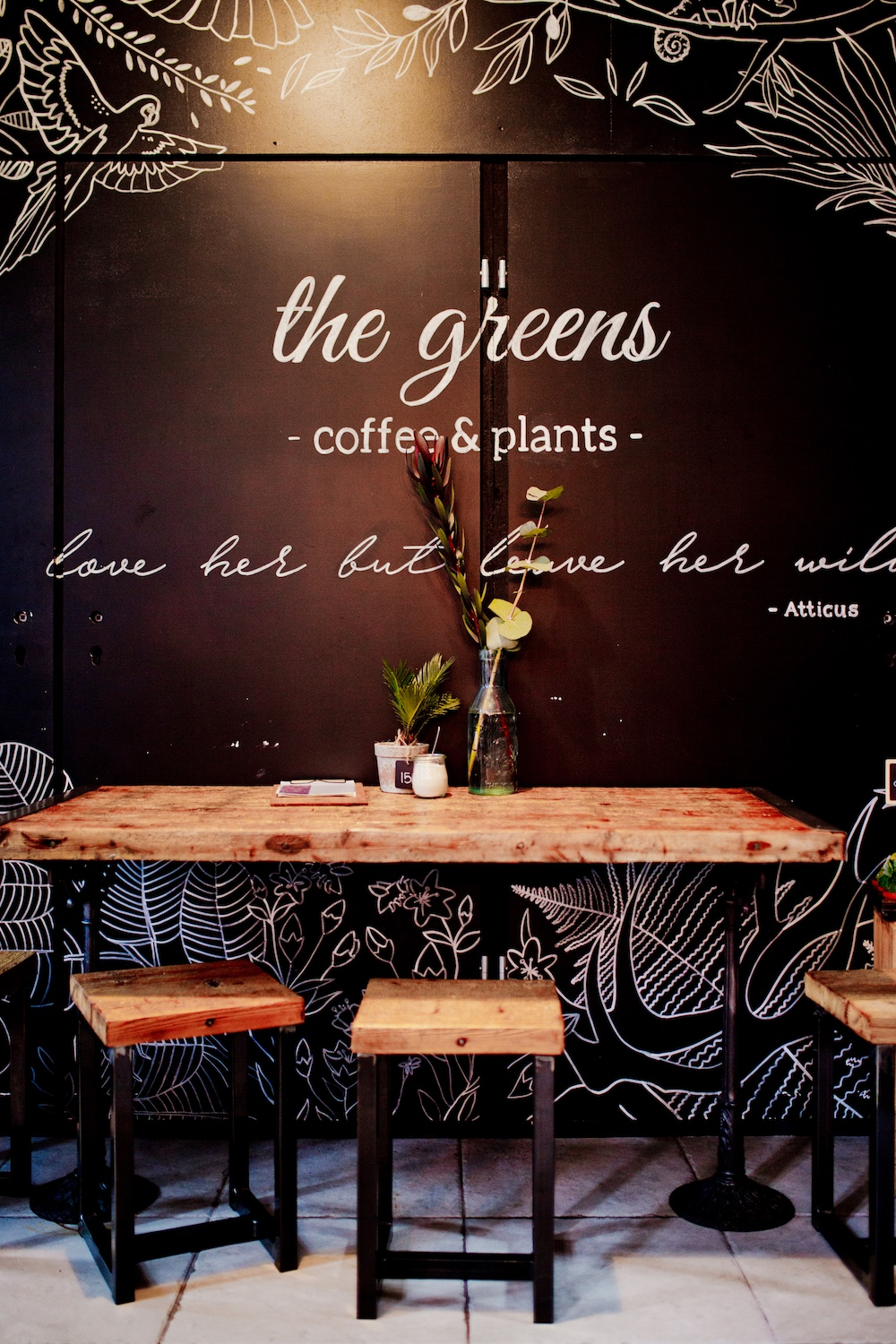 www.thegoldenbun.com // The Greens Coffee & Plants Berlin Mitte Café Alte Münze