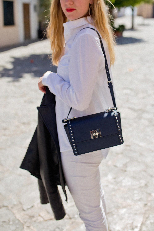 Joop Taste of Life outfit white jeans Palma de Mallorca style