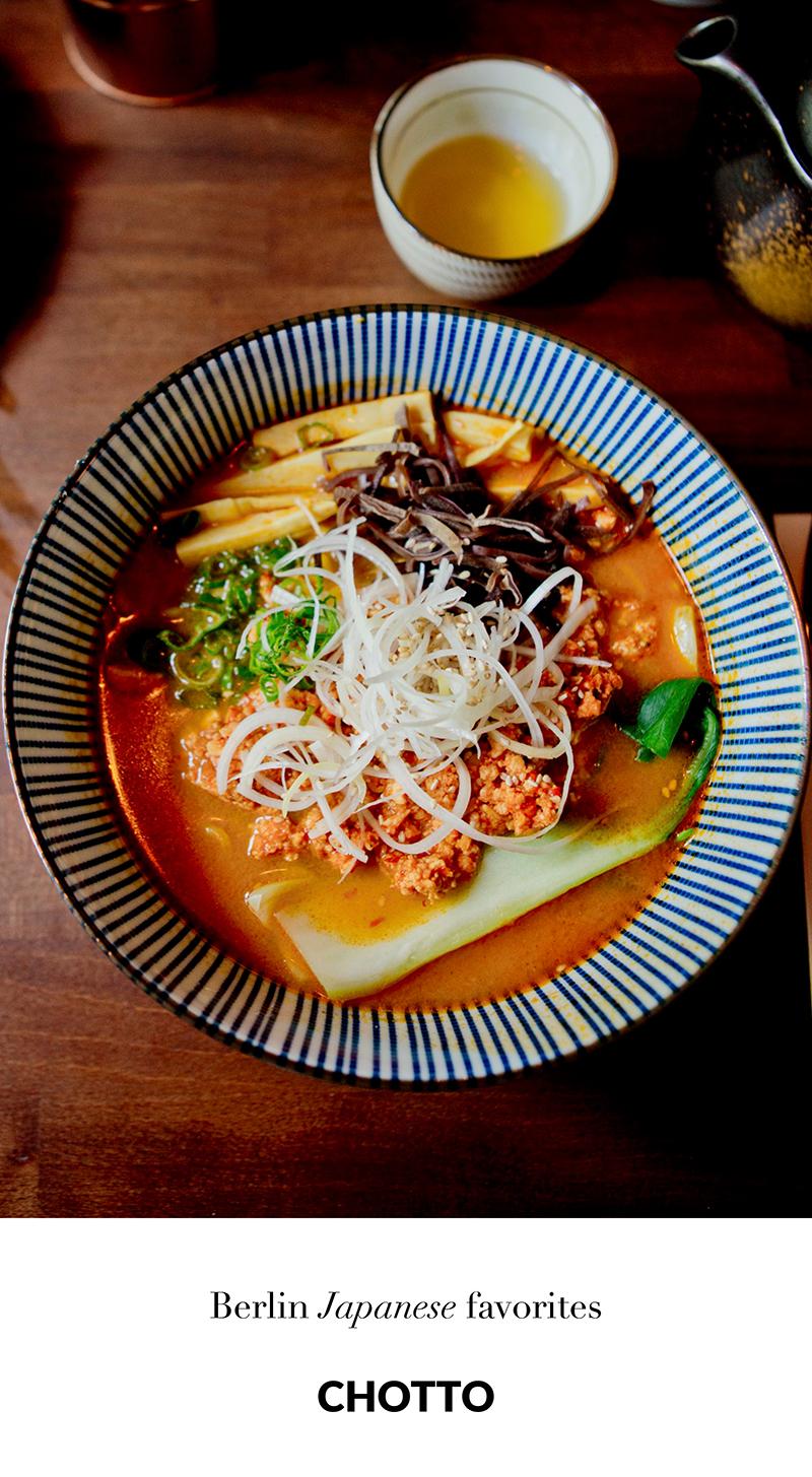 www.thegoldenbun.com | Chotto - Japanisches Ramen Sushi Restaurant Izakaya Prenzlauer Berg Berlin