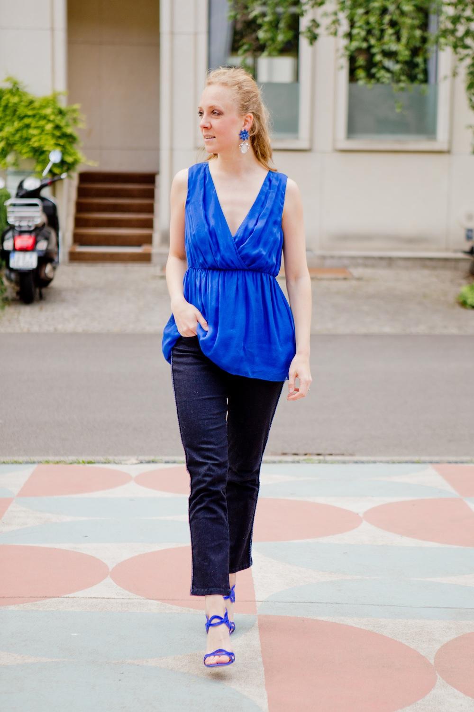 www.thegoldenbun.com | blue silidentop hallhuber more more jeans