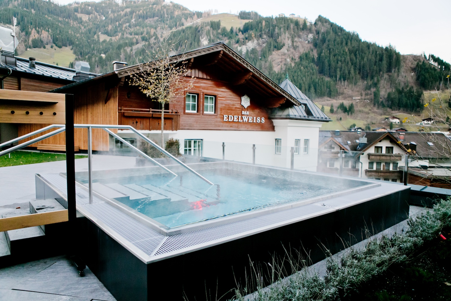 THE EDELWEISS Salzburg Mountain Resort Hotel recommendation Spa Hotel Austria Nature Parks Hohe Tauern