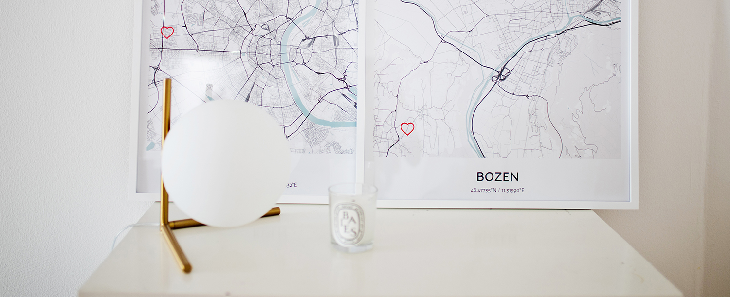 Personalized city maps – bringing our homes to your new home