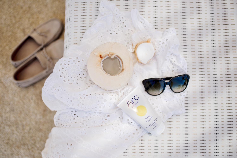 Arc Suncare mineral organic sunscreen zinc sun cream 1
