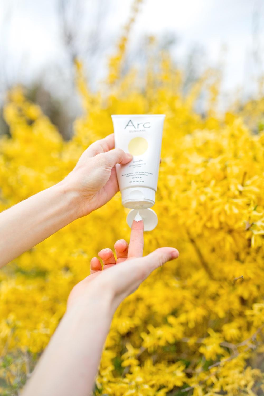 Arc Suncare mineral organic sun cream zinc sun cream 1